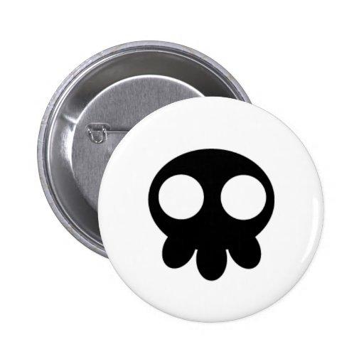 Pernos de OniBaka - cráneo negro Pins