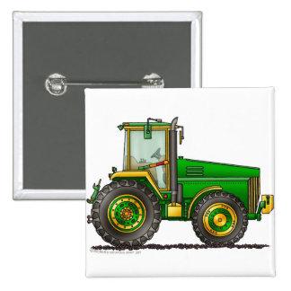 Pernos de tractor grandes verdes pin