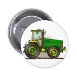 Pernos de tractor grandes verdes pins