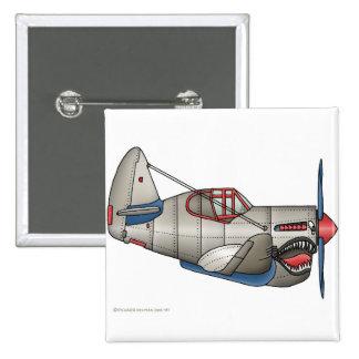 Pernos del avión de combate del aeroplano WW2 Pin Cuadrada 5 Cm