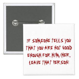 pernos del buen consejo, pernos de la actitud pin cuadrada 5 cm