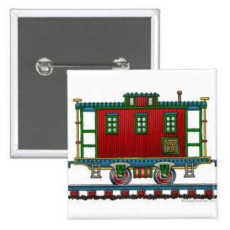 Pernos del ferrocarril del coche del Caboose del t Pins