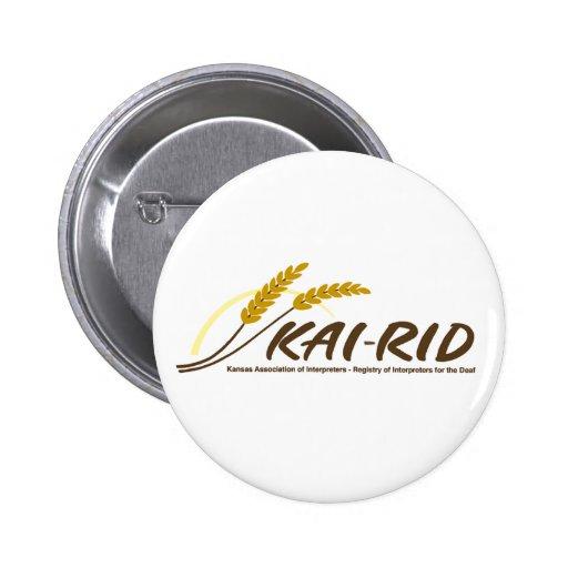 Pernos del logotipo de KAI-RID Pins