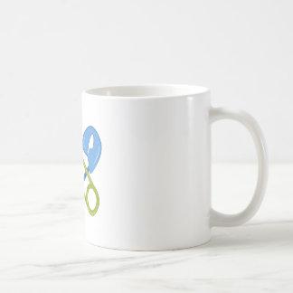 Pernos del pañal tazas de café
