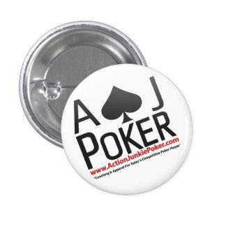 Pernos del póker del drogadicto de la acción pin redondo 2,5 cm