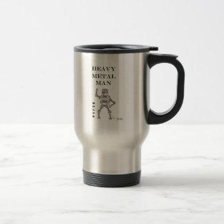 Pernos - hombre de metales pesados taza térmica