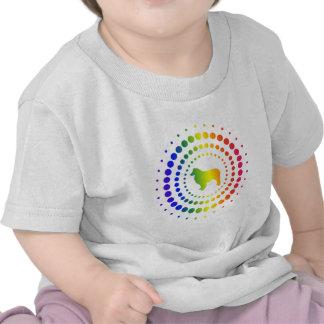 Pernos prisioneros australianos del arco iris del camisetas