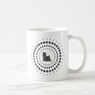 Pernos prisioneros del cromo de Yorkshire Terrier Taza Clásica