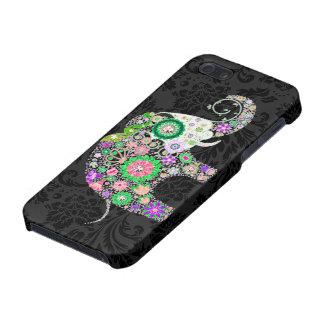 Pernos prisioneros retros coloridos del diamante iPhone 5 carcasas