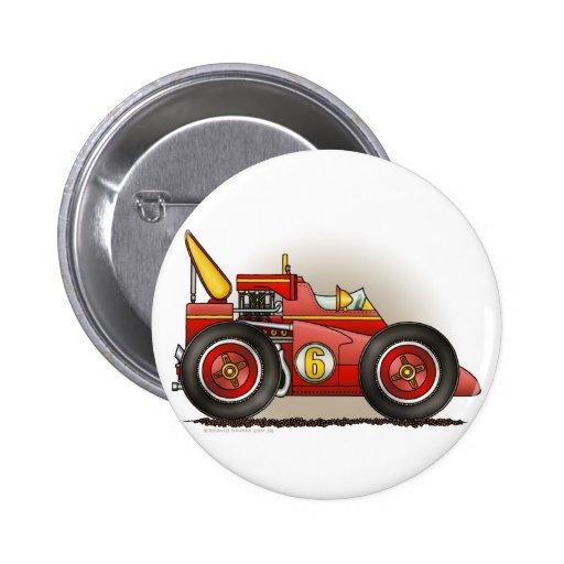 Pernos rojos del coche de carreras de Indy Pin