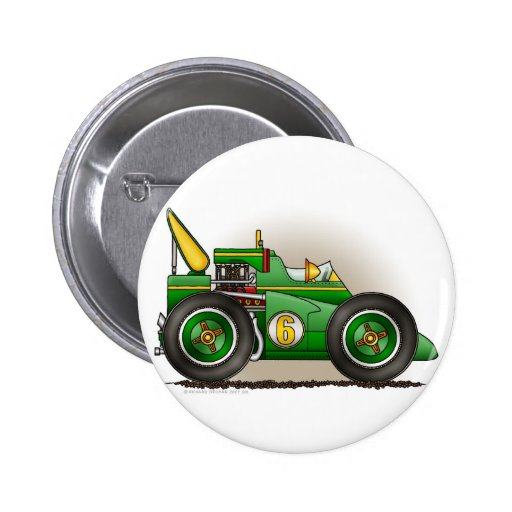 Pernos verdes del coche de carreras de Indy Pins
