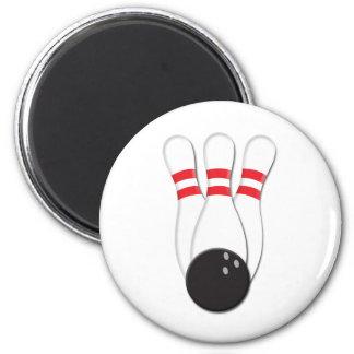 Pernos y bola de bolos imán redondo 5 cm