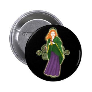 Pernos y botones célticos, diseño virginal #1 del  pin