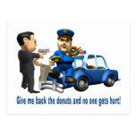 Pero anillos de espuma del amor de los polis postal