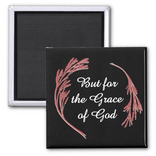 Pero para la gracia de Dios Imán Cuadrado
