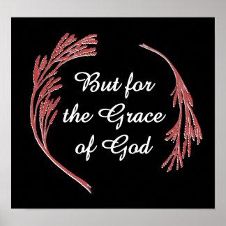 Pero para la gracia de Dios Póster