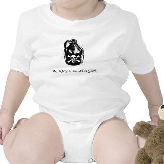 ¿Pero POR QUÉ se va la leche? Unisex Trajes De Bebé
