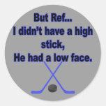 Pero referencia… pegatinas redondas