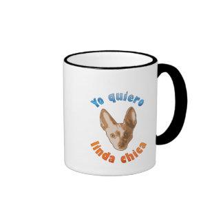 Pero yo te quiero ringer coffee mug