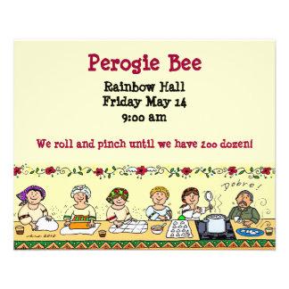 Perogie Bee Flyer