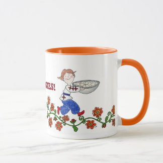 Perogie Boy Ukrainian Folk Art Mug
