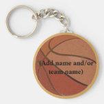 Peronalized Basketball Keychain