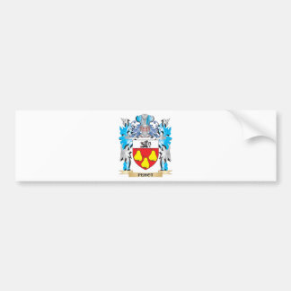 Perot Coat of Arms - Family Crest Car Bumper Sticker