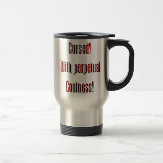 Perpetual Coolness 15 Oz Stainless Steel Travel Mug