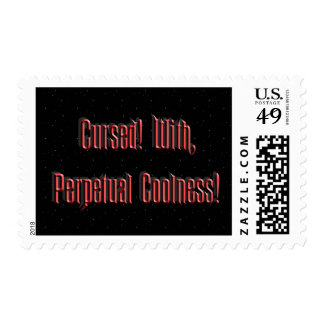 Perpetual Coolness Postage Stamps