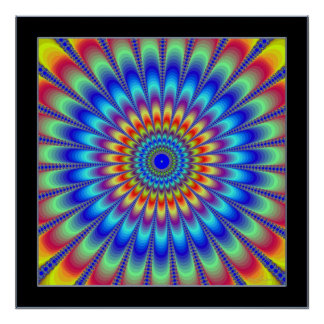 Perpetual Emission of Colors Poster