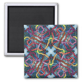 Perpetual Puzzle Kinectric Tile 1 2 Inch Square Magnet