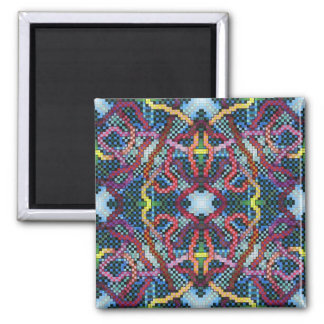Perpetual Puzzle Kinectric Tile 2 2 Inch Square Magnet