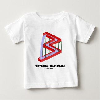 Perpetual Waterfall (Optical Illusion) Baby T-Shirt