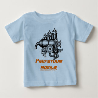 Perpetuum mobile funny baby t-shirt