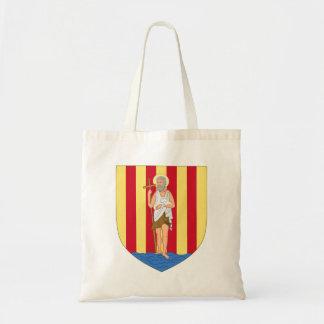 Perpignan Coat of Arms Budget Tote Bag