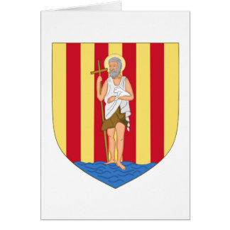 Perpignan Coat of Arms Card