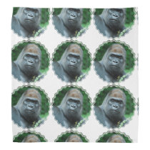 Perplexed Gorilla Bandana