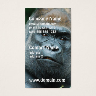 Perplexed Gorilla Business Card
