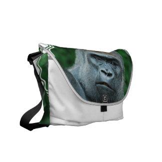Perplexed Gorilla Courier Bag