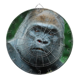 Perplexed Gorilla Dartboard With Darts