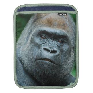 Perplexed Gorilla iPad Sleeves