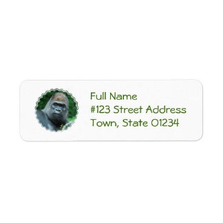Perplexed Gorilla Label