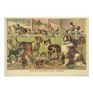 Perrera y campo de la casa por el curtidor y Ives Anuncios