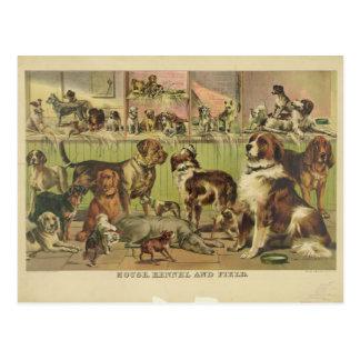 Perrera y campo de la casa por el curtidor y Ives Postal