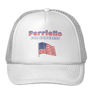 Perriello for Congress Patriotic American Flag Mesh Hat