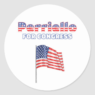Perriello for Congress Patriotic American Flag Stickers