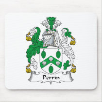 Perrin Family Crest Mousepad