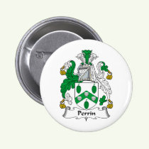 Perrin Family Crest Button
