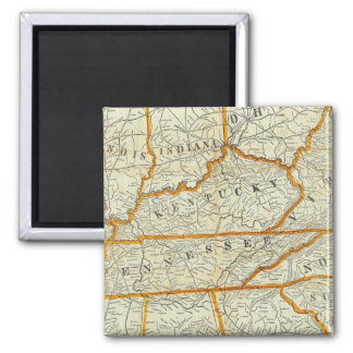 Perrine's New Topographical War Map Magnet