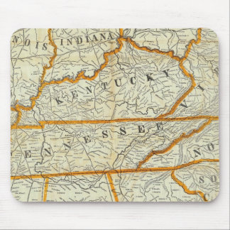Perrine's New Topographical War Map Mouse Pad